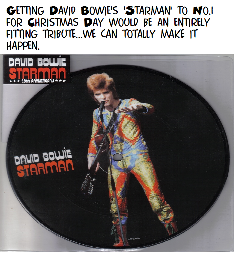 Bowie for UK Xmas No.1