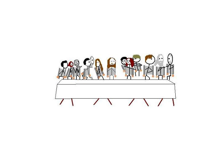 The Last Supper with Jetpacks